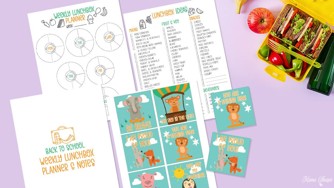 Lunchbox Planner and Notes HERO