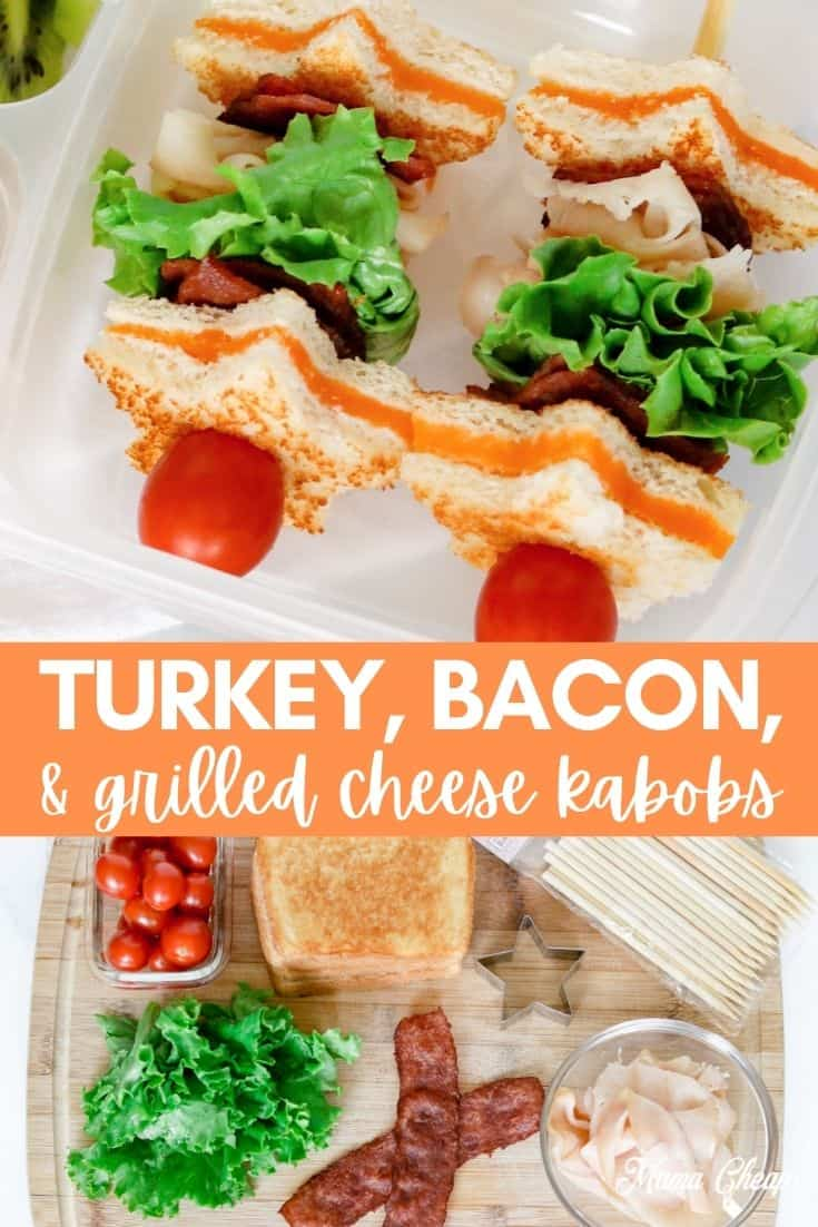 Turkey Bacon Grilled Cheese Kabobs PIN