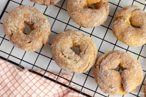 donuts on cooling rack