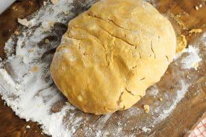 pumpkin donut dough