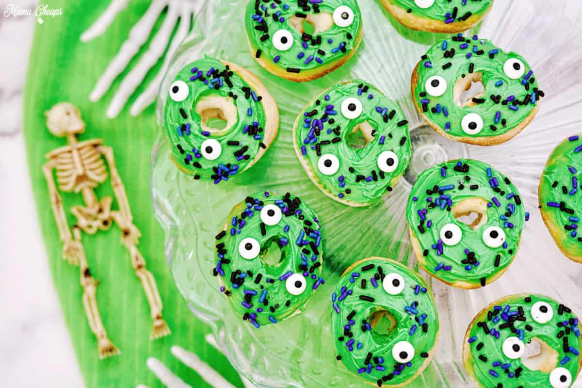 Halloween Monster Donuts HERO