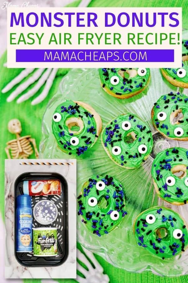 Halloween Monster Donuts PIN