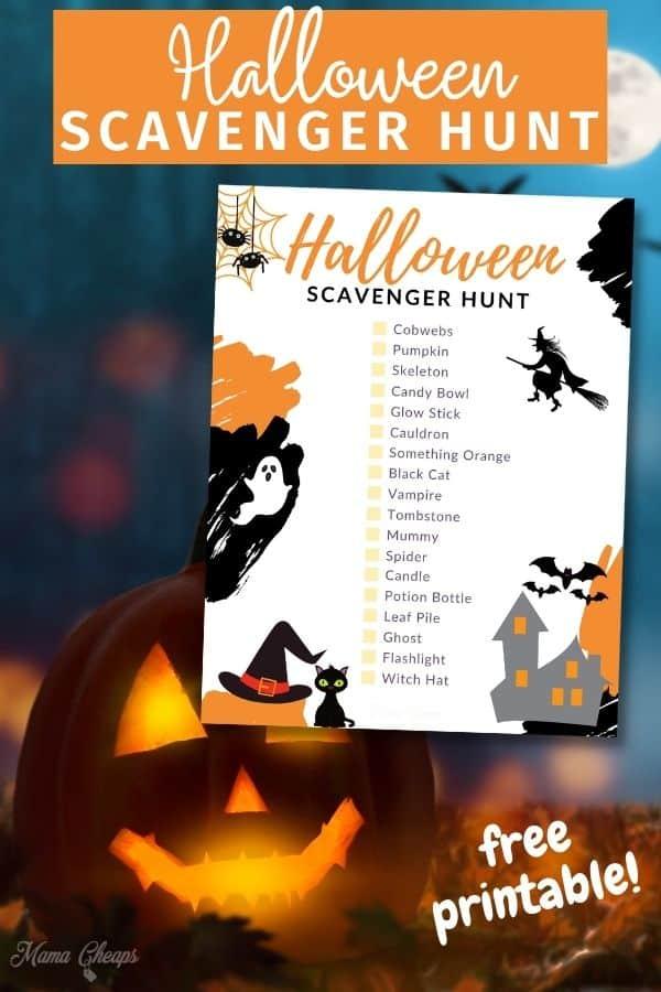 Halloween Scavenger Hunt PIN