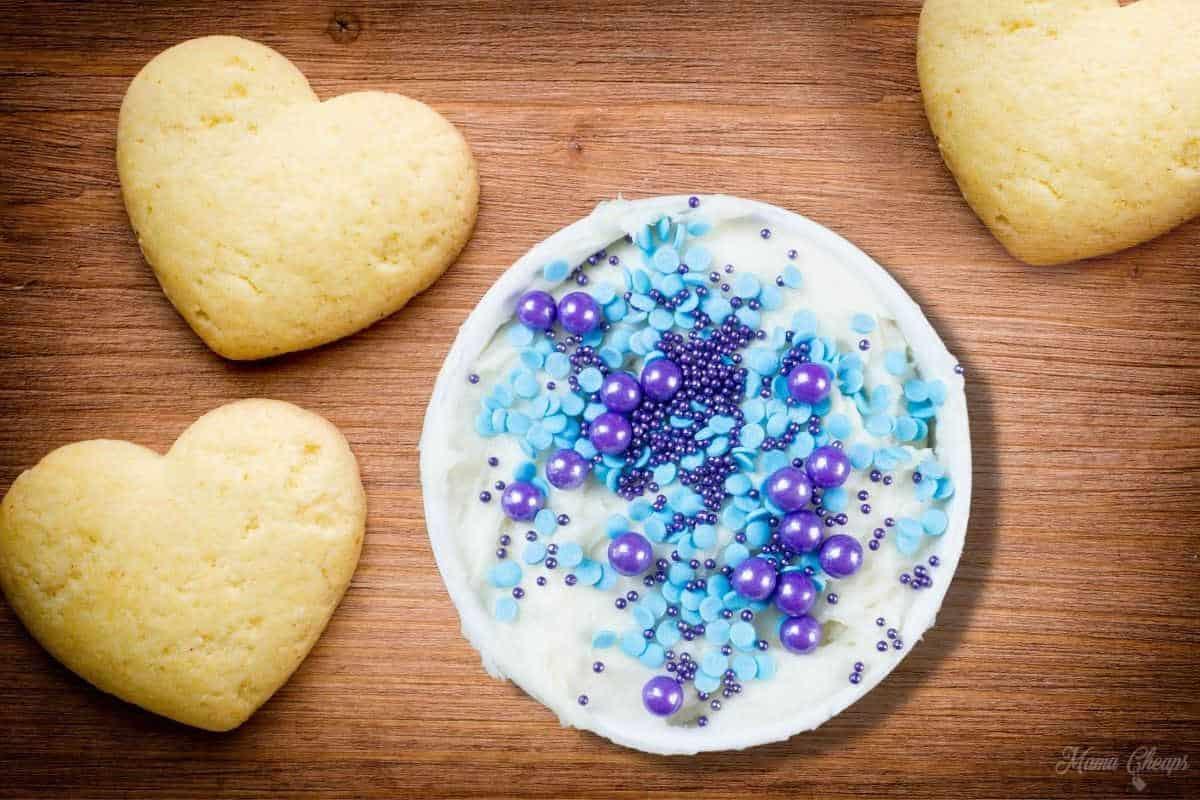 Mermaid Cookie Dip Flay Lay HERO