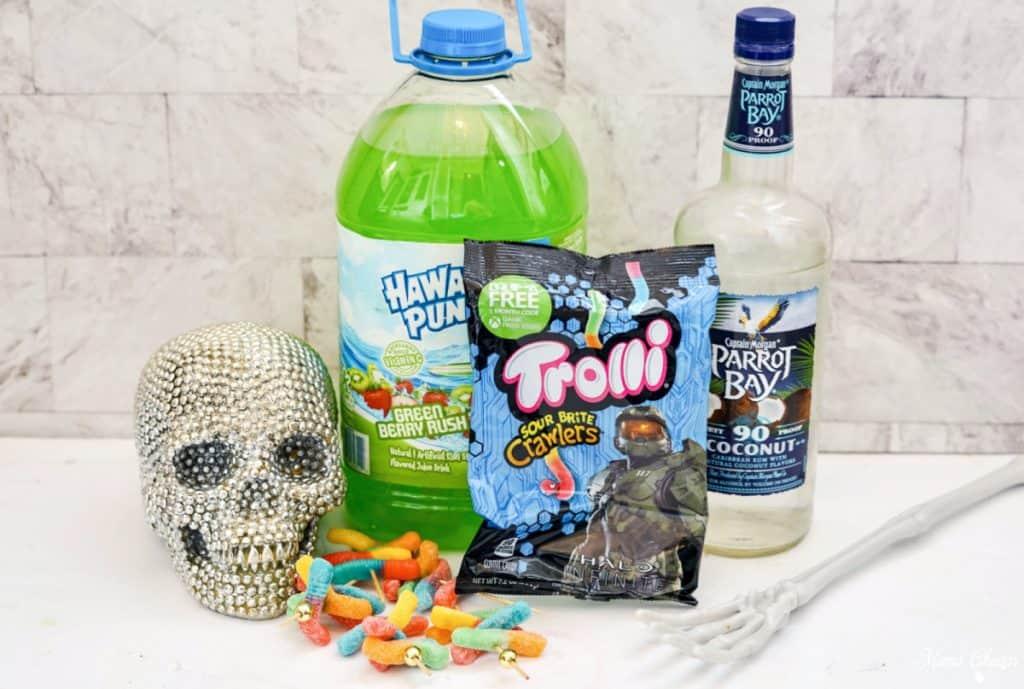 Halloween Shooters Ingredients