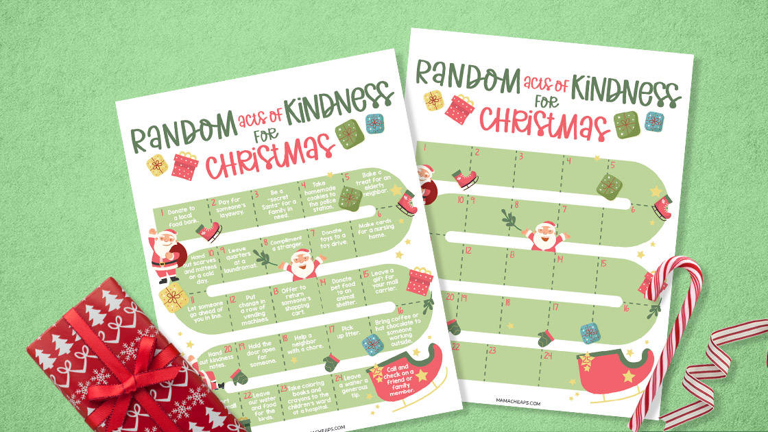 Random acts of kindess for Christmas