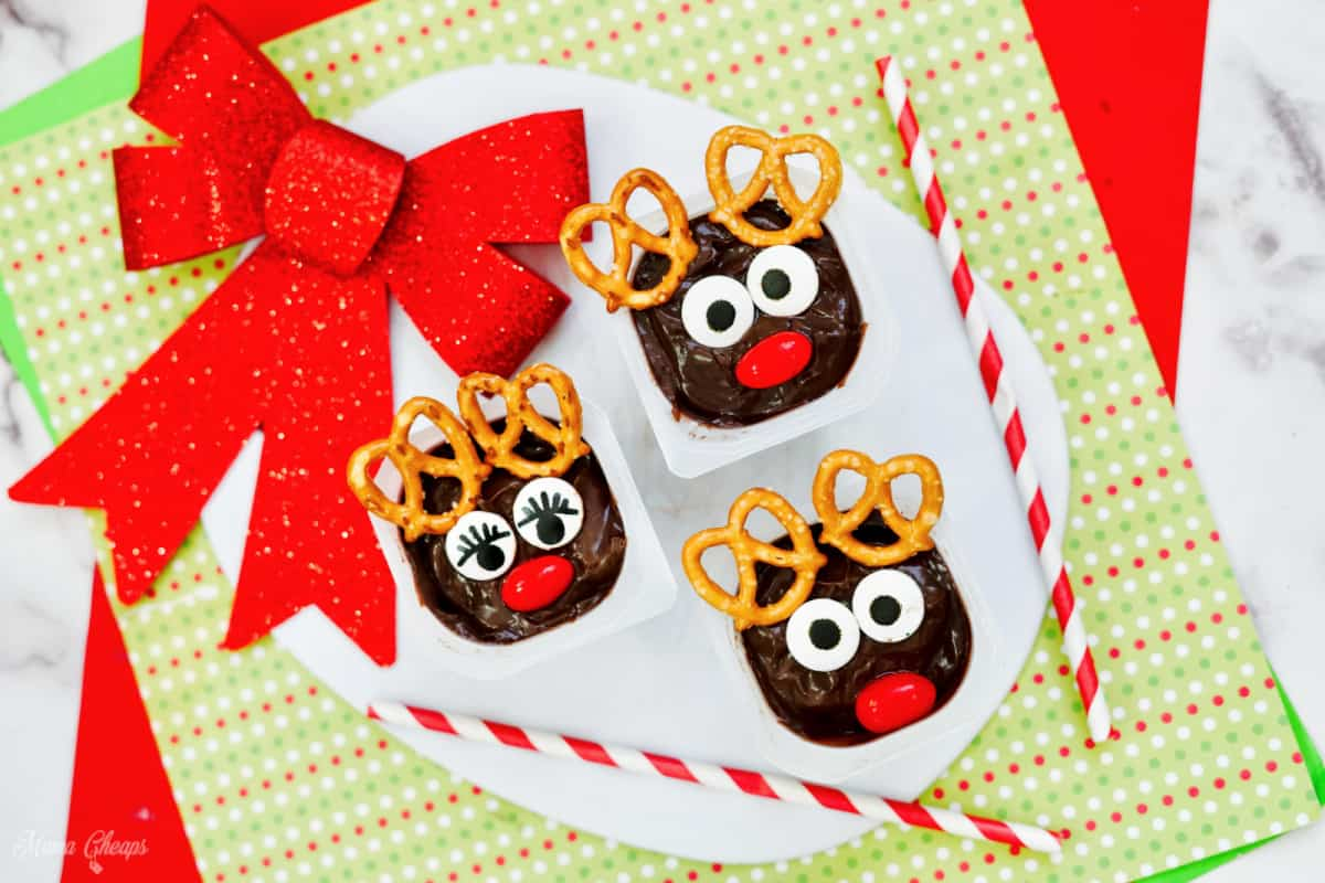 rudolph pudding cups HERO